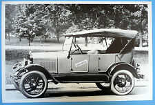 "1926 1927 Ford Model T Touring Top Up Side View 12 By 18"" Black & White Picture"
