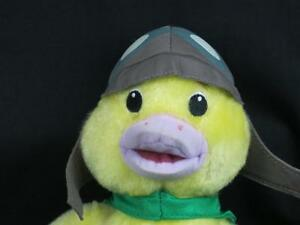 FISHER-PRICE WONDER PETS TO MAINTAIN YELLOW DUCK  GREEN CAPE  PLUSH STUFFED TOY