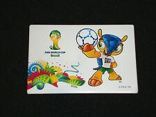 "Fußball WM-Magnet ""Fuleco"" FIFA World-Cup 2014 Brazil tm WC Brasilien Brasil"
