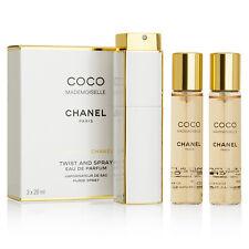 Coco Mademoiselle By Chanel-Twist&Spray-Eau de Parfum-3x0.7oz/3x20ml-New In Box