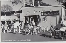 Ohio Real Photo RPPC Postcard Columbus 1992 AMERIFLORA Ice Cream Parlor Borden16