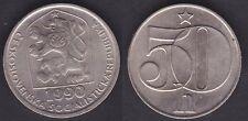 TCHECOLSLOVAQUIE   50 HALEU 1990  UNC / FDC