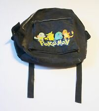 Vintage Pokemon Backpack Pikachu Charmander - Some Wear