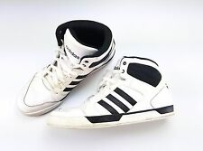 Neo Label Ortholite White black high top mens sneakers shoes sz 14