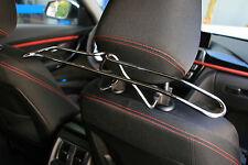 Autokleiderbügel für Kopfstütze, chrom Ausführung, Universal einsetzbar, 072028