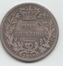 Estremamente rara 1850 Victoria SHILLING 1 / -