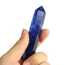 9-12cm Natürlich Rock Lapis Lazuli Quarz Kristall Stein Point Heilung  4X