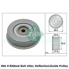 INA V-Ribbed Belt Idler, Deflection/Guide Pulley - 532 0381 20 - OE Quality