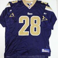 Los Angeles Rams Marshall Faulk Reebok Football Jersey Size XL NFL St Louis