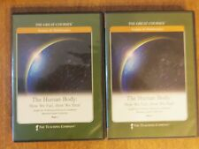 The Teaching Company Human Body How We Fail How We Heal Part 1 & 2 4 DVD Set