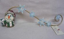 Home Interiors Snowman Candle Snuffer New Without Box