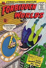 Forbidden Worlds #134 - Chang's Going To Kill You - 1966 (6.0) Wh