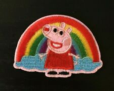 Peppa Pig Patch embroidery  SEW/IRON on 1.75
