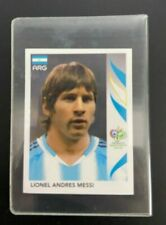 STICKER MESSI 185 WC WM 2006 ROOKIE