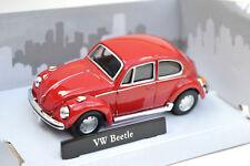 VW VOLKSWAGEN BEETLE 1:43 Car NEW Model Models Cars Die Cast Miniature Red