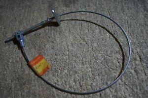 SUZUKI GENUINE PE250 RS250 80-81 REAR  BRAKE CABLE  58510-40650  NOS