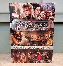 Jim Henson Fantasy Film Collectors Box (Dvd, 2006, 3-Disc Set) New Sealed