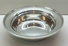 "S. Kirk & Son Sterling Silver 9"" Round Bowl 4105 CALVERT-OLD MARYLAND PLAIN"