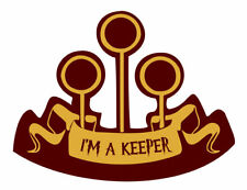 I'm a keeper Iron on Screen Print Machine Washable fabric Transfer badge