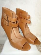 Aldo Brown Suede Ankle Strapped 4 ½ High Heel Shoes (#2915)
