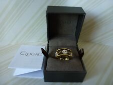 Clogau Gold, 9ct Yellow & White Gold Daisy Ring, Size J 1/2 RRP £400