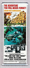THE LAND THAT TIME FORGOT LARGE movie poster 'wide' FRIDGE MAGNET  - CLASSIC !