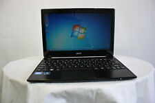 "Laptop Acer Travelmate B113 11.6"" 2GB 320GB Windows 7 Webcam Faulty battery"