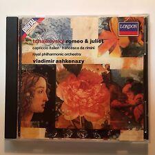 Tchaikovsky; Romeo & Juliet, Francesca da Rimini, Capriccio Italien-Ashkenazy FS