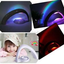 Magic Romantic LED Rainbow Projector Light Colorful Night Lamp