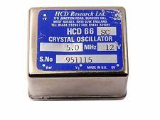 HCD Research  HCD 66 SC Crystal Oscillator OCXO 5MHz used