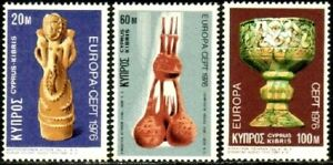 Cyprus #445-447 MNH CV$2.75