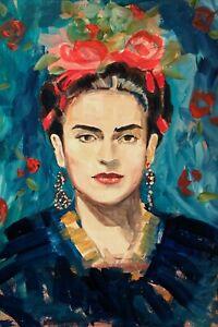 Frida Kahlo 11 Movie Poster Canvas Picture Art Premium Quality