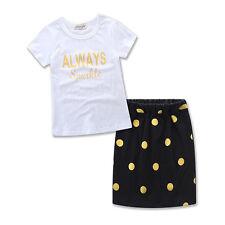 Mutter Tochter Kind Outfit Tupfen Freizeit Kleid T Shirtkleid Boho Rock Kleid