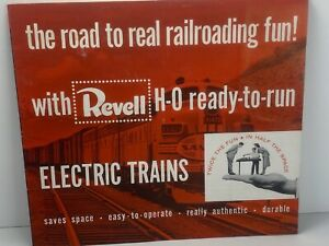 VINTAGE 1956 REVELL HO ELECTRIC TRAIN CATALOG
