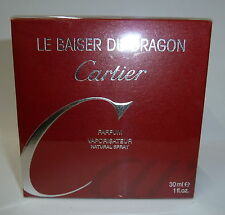CARTIER LE BAISER DU DRAGON PARFUM VAPORISATEUR NATURAL SPRAY 30ML. 1 FL.OZ