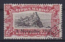 San Marino Mi Nr. 67, gest., 1918, used