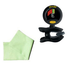 Guitar Tuner Pack - Snark SN8 Super Tight & Guitar Cleaning Cloth