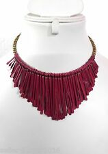 CosMos Handicrafts Partywear Patina Rani Color Stick Necklace for Girl & Women