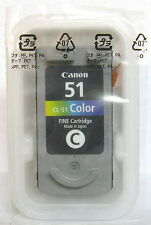 Canon cl-51 cl51 Genuine Colour Cartridge. New & Sealed.