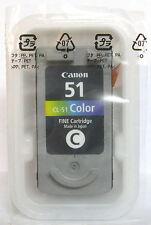 CANON CL-51 CL51 Genuine Couleur Cartouche. New & Sealed.