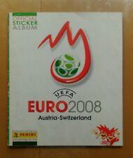 Album cromos panini Eurocopa 2008 leer