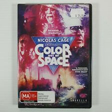 Color Out Of Space DVD Nicolas Cage Horror NEW
