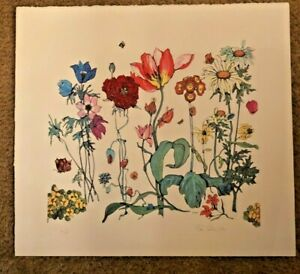 FLEUR COWLES HAND SIGNED LIMITED EDITION LITHOGRAPH 54/150