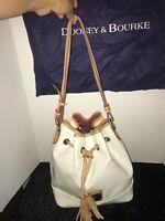 Dooney & Bourke Bright Drawstring  Patent Leather XL