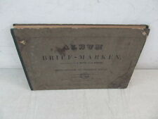 Nystamps Worldwide Antique stamp collection Rare 1864 Album $8000