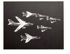 A3 VAH4 F8 VF24 A4 Skyhawks Navy Aircraft Photograph 8x10 BW
