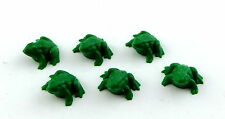 Dolls House Miniature Animal Garden Pond Halloween Accessory 6 Frogs