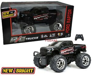 New Bright Remote Control RC Black Ford F-150 Raptor Truck 27 MHz 2018 NEW