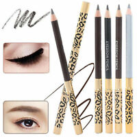 2in1 Waterproof Leopard Longlasting Makeup Eyeliner Eyebrow Pencil W/ Brush _AU