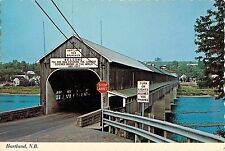 New Brunswick Longest Covered Bridge in World Hartland Canada